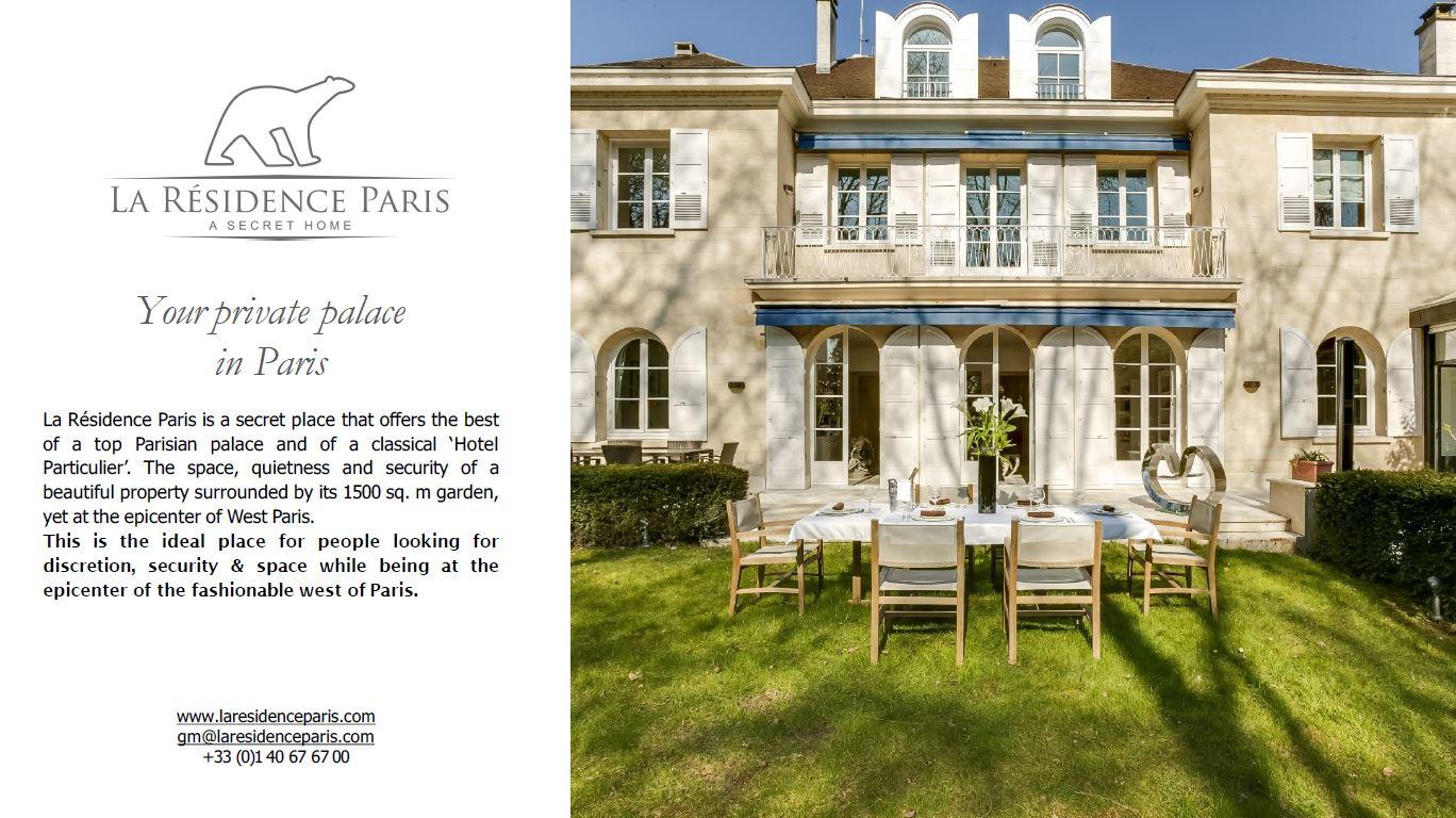 La Résidence Paris
