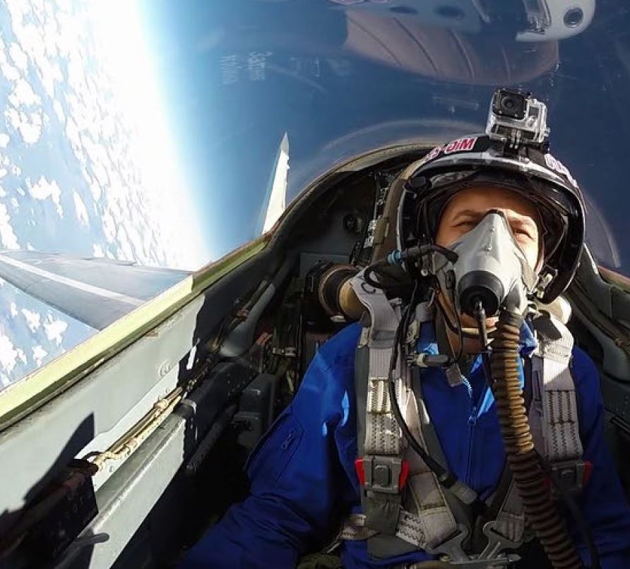 MIG - 31 FLIGHT EXPERIENCE