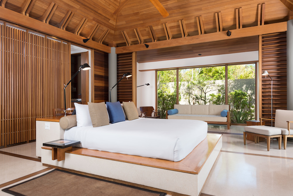 Amanyara Pavilion Bedroom